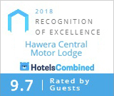 HotelsCombined Recognition of Excellence 2018